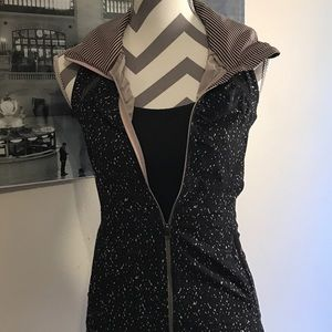 Lululemon Athletica size 2 Running Vest with Hood